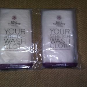 Your Stretch Wash Cloth by Daily Comcepts